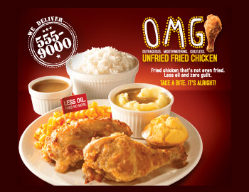 kenny rogers fried chicken